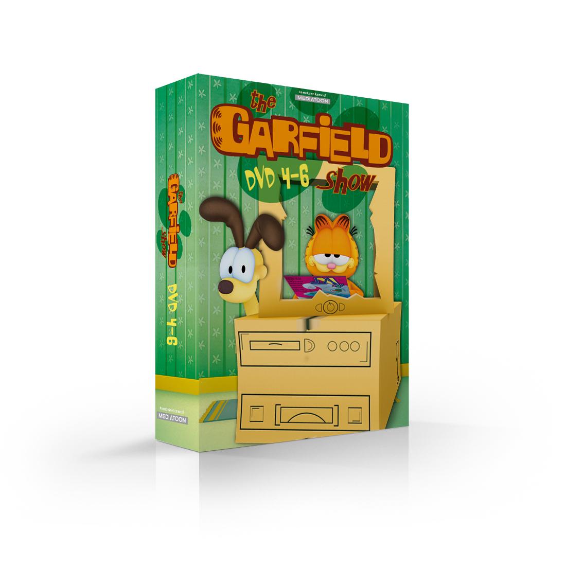 Garfield: kolekce 4-6 (3 DVD) - DVD