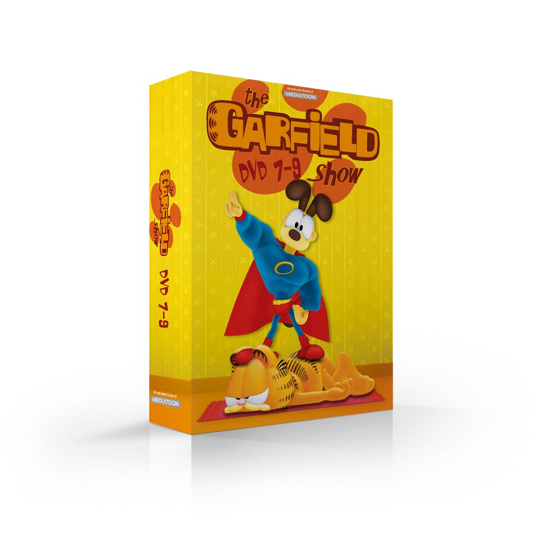 Garfield: kolekce 7-9 (3 DVD) - DVD