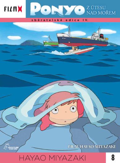 Ponyo z útesu nad mořem - DVD