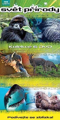 Svět přírody: kolekce (6 DVD) - DVD