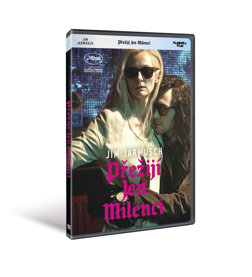 Přežijí jen milenci    - DVD