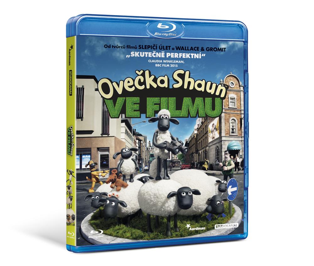 Ovečka Shaun ve filmu - Blu-Ray