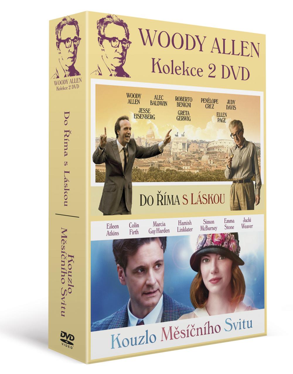 Woody Allen: Kolekce (2DVD) - DVD