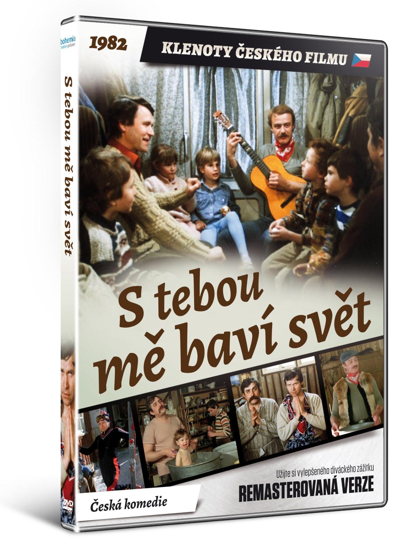 S tebou mě baví svět   - edice KLENOTY ČESKÉHO FILMU (remasterovaná verze) - DVD