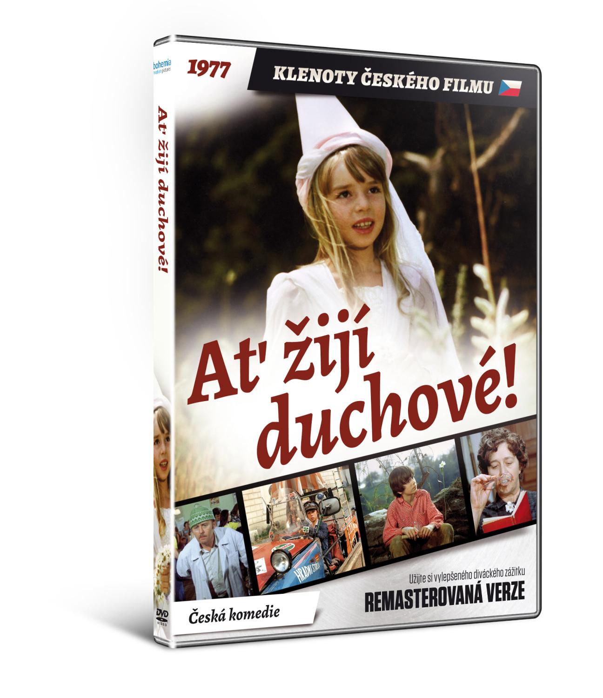 Ať žijí duchové!   - edice KLENOTY ČESKÉHO FILMU (remasterovaná verze) - DVD