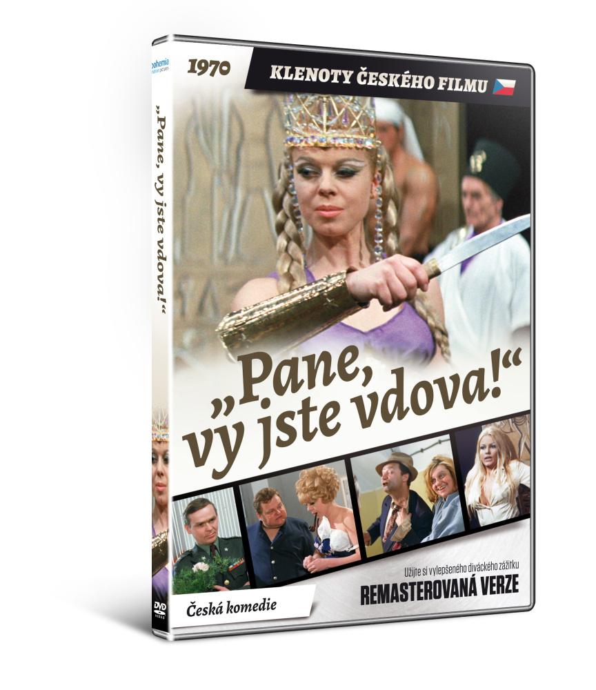 Pane, vy jste vdova!   - edice KLENOTY ČESKÉHO FILMU (remasterovaná verze) - DVD
