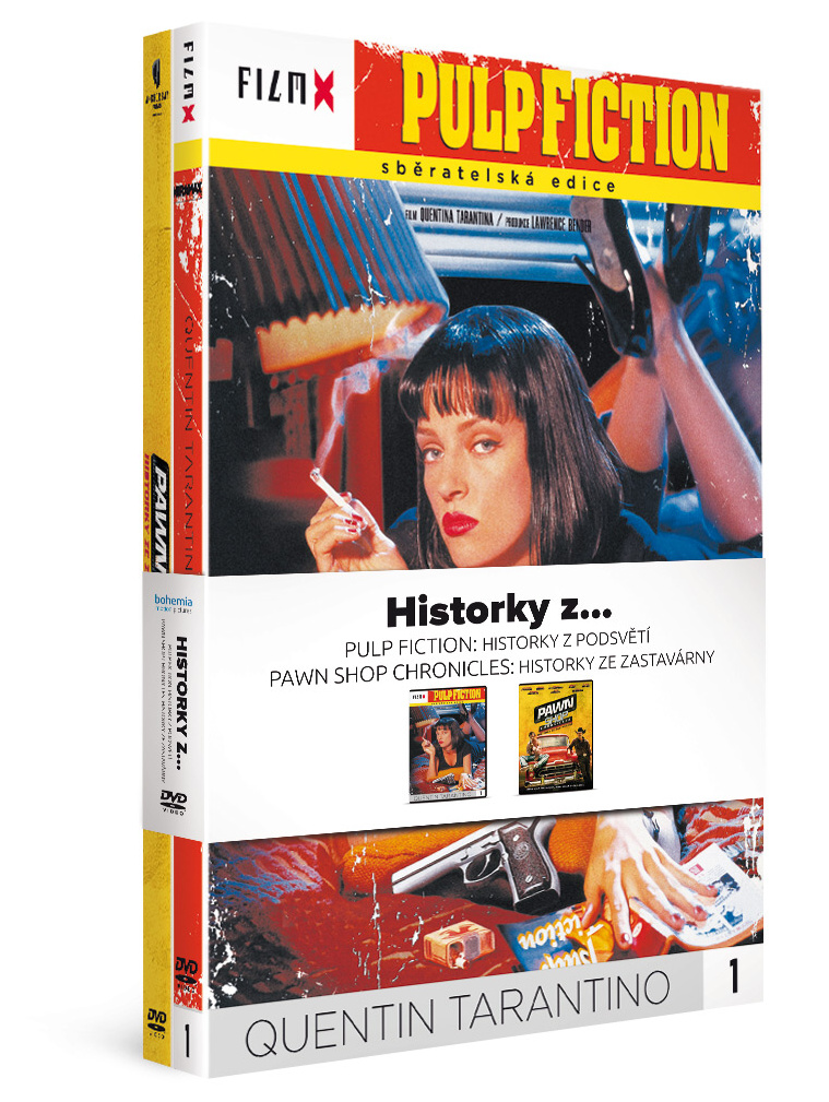 Historky z... Pulp Fiction: Historky z podsvětí + Pawn Shop Chronicles: Historky ze zastavárny - DVD