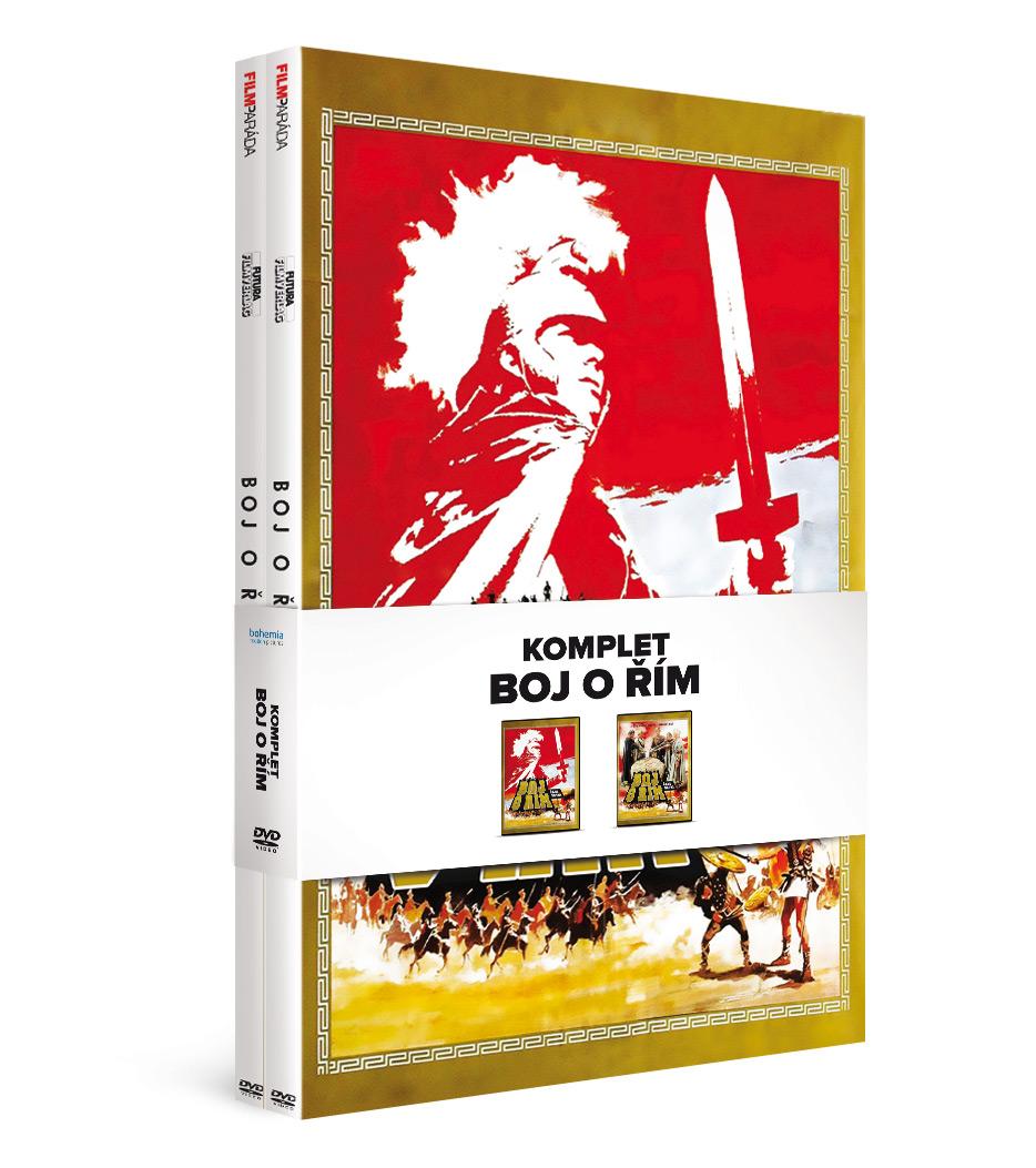 Komplet Boj o Řím (2DVD)   - DVD