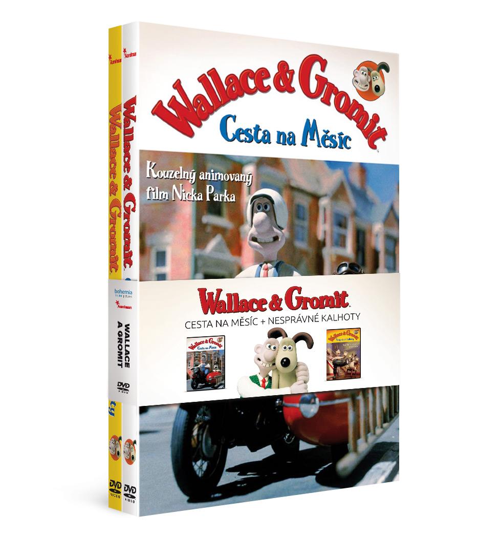 Kolekce Wallace a Gromit (2DVD)   - DVD