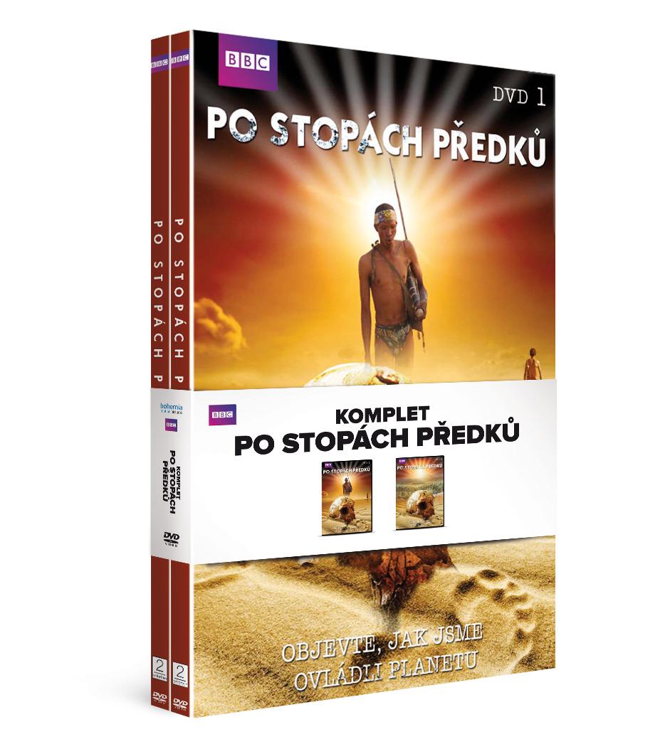 Komplet Po stopách předků (2DVD)   - DVD