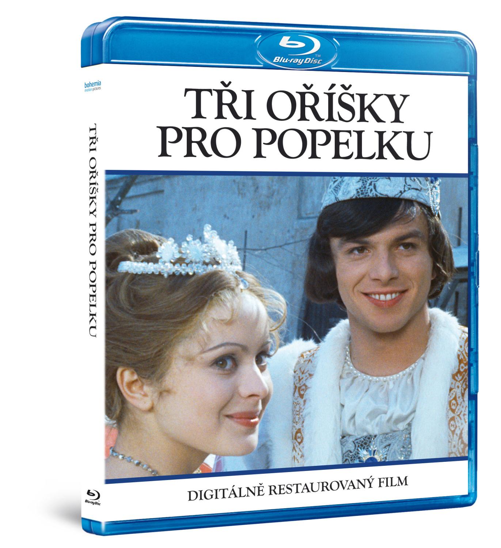 Tři oříšky pro Popelku  (DIGITÁLNĚ RESTAUROVANÝ FILM)   - Blu-ray