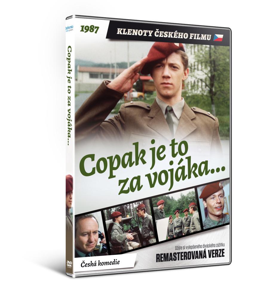 Copak je to za vojáka...   - edice KLENOTY ČESKÉHO FILMU (remasterovaná verze) - DVD