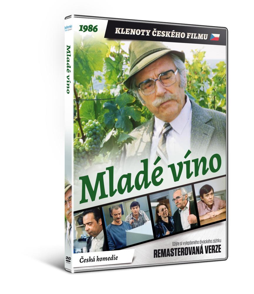 Mladé víno   - edice KLENOTY ČESKÉHO FILMU (remasterovaná verze) - DVD