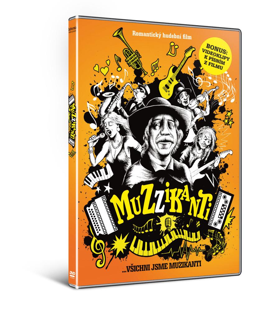 Muzzikanti  ( + CD Muzzikanti jako DÁREK)    - DVD