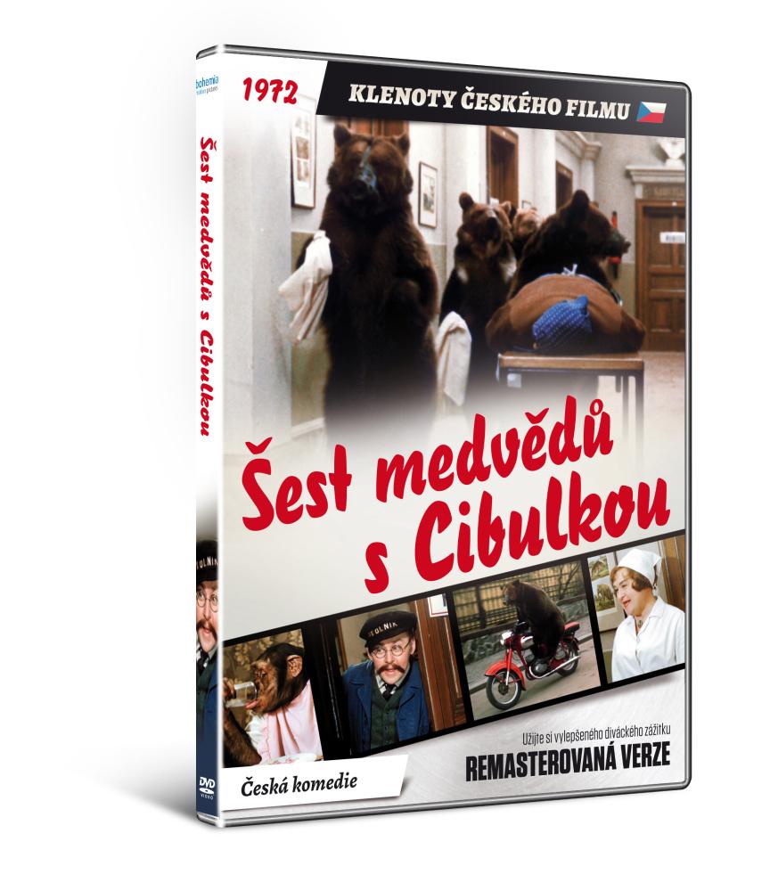 Šest medvědů s Cibulkou    - edice KLENOTY ČESKÉHO FILMU (remasterovaná verze) - DVD