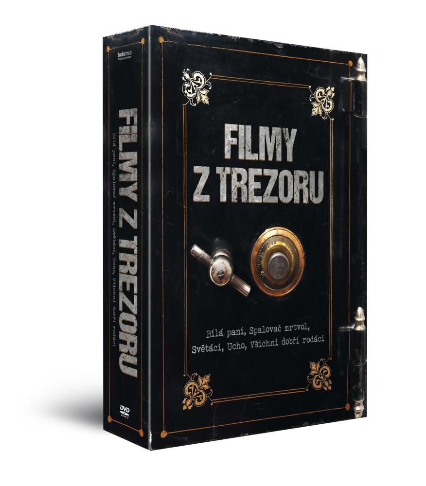 Filmy z trezoru (5DVD): Bílá paní + Spalovač mrtvol + Světáci + Ucho + Všichni dobří rodáci   - DVD