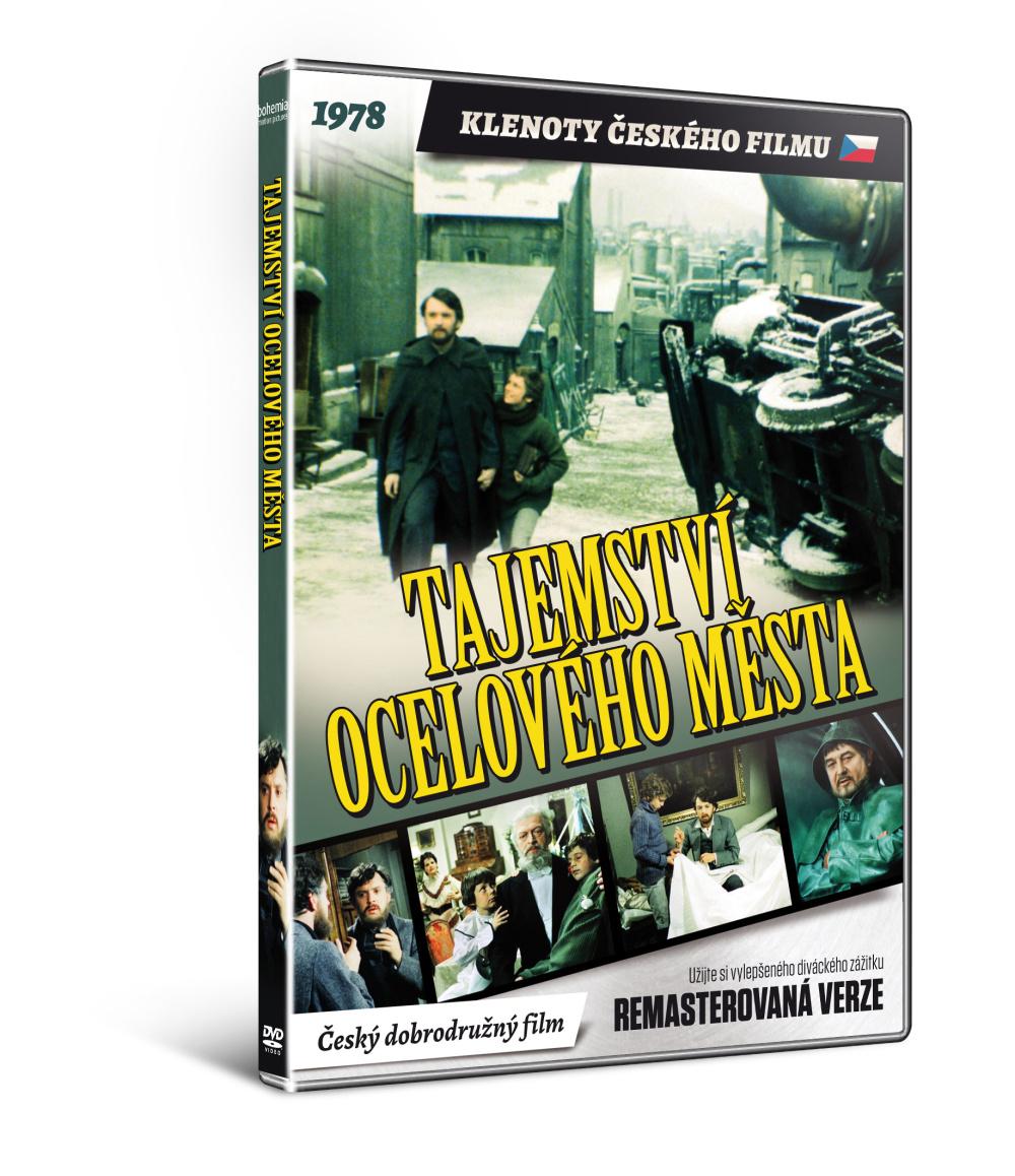 Tajemství Ocelového města    - edice KLENOTY ČESKÉHO FILMU (remasterovaná verze) - DVD