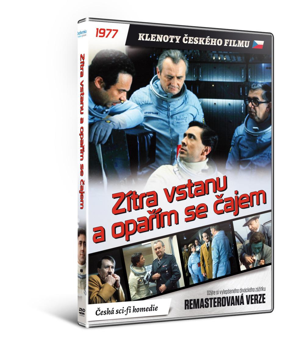 Zítra vstanu a opařím se čajem - edice KLENOTY ČESKÉHO FILMU (remasterovaná verze)   - DVD