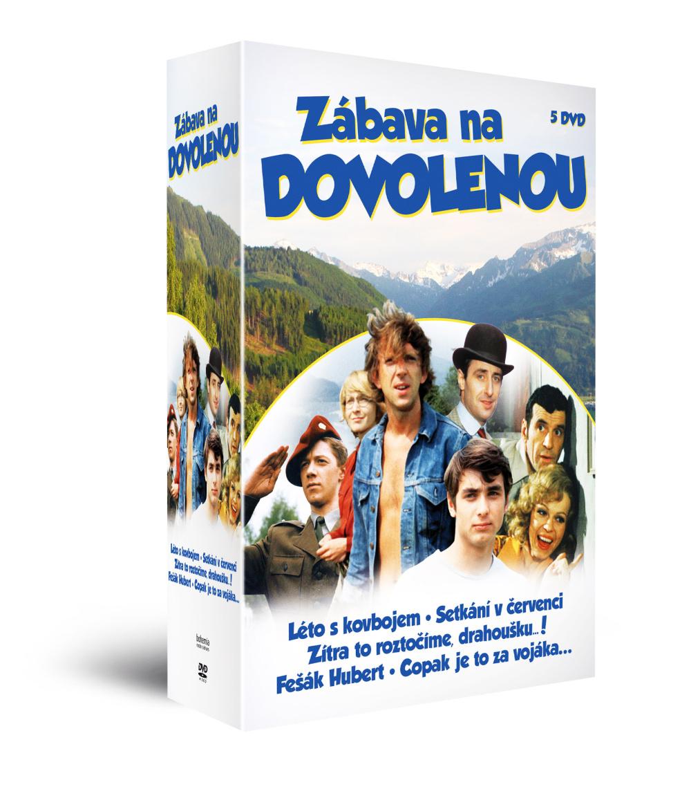Kolekce Zábava na dovolenou (5DVD)   - DVD
